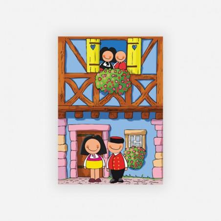 carte postale Jeannala et Seppala
