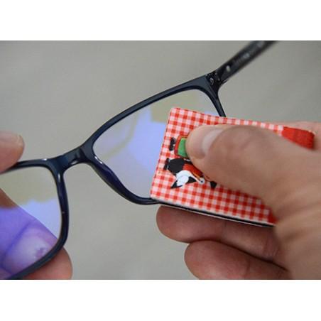 essuie lunettes de poche