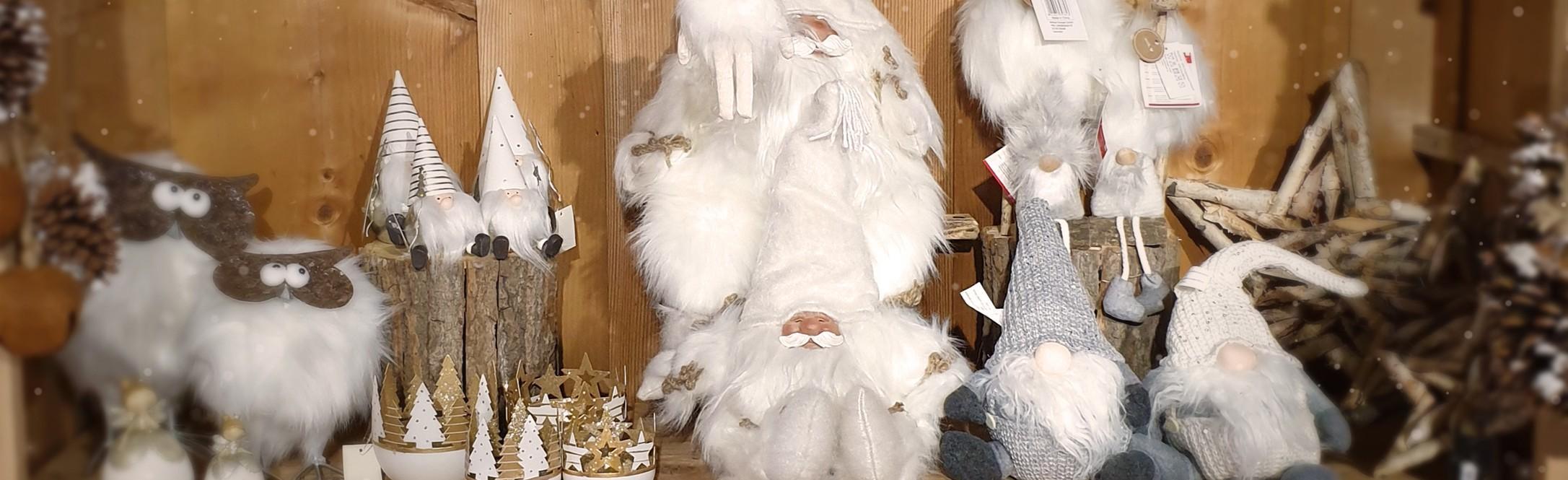 Alsace Boutique - Décoration de Noël en Blanc
