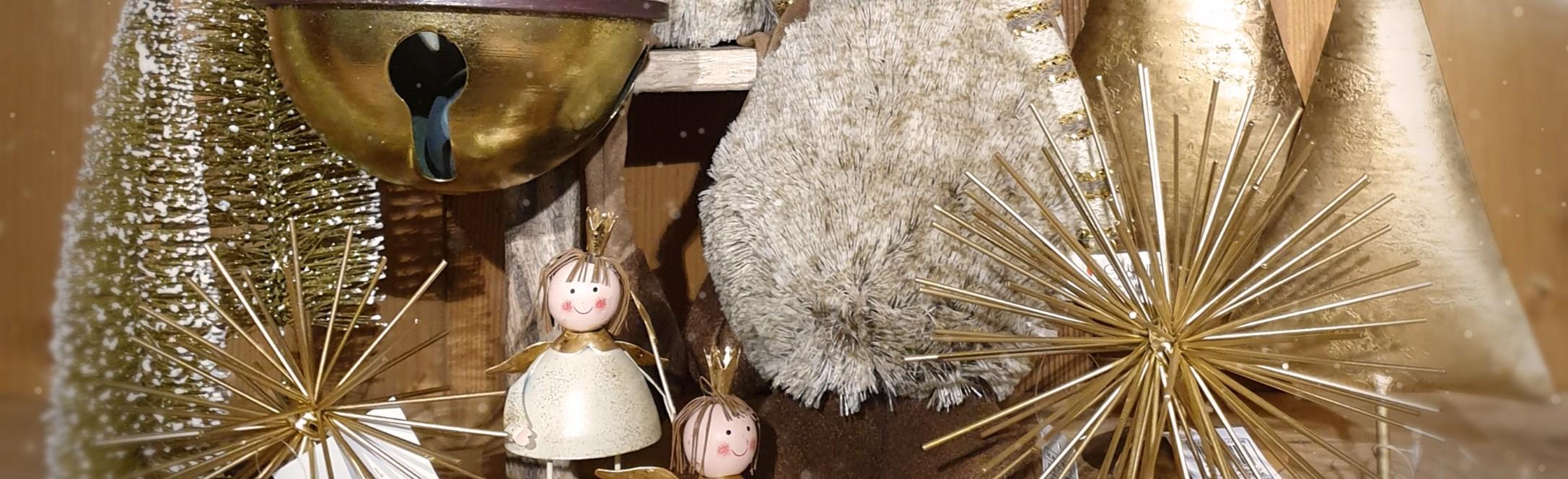 Alsace Boutique - Décoration de Noël en Or