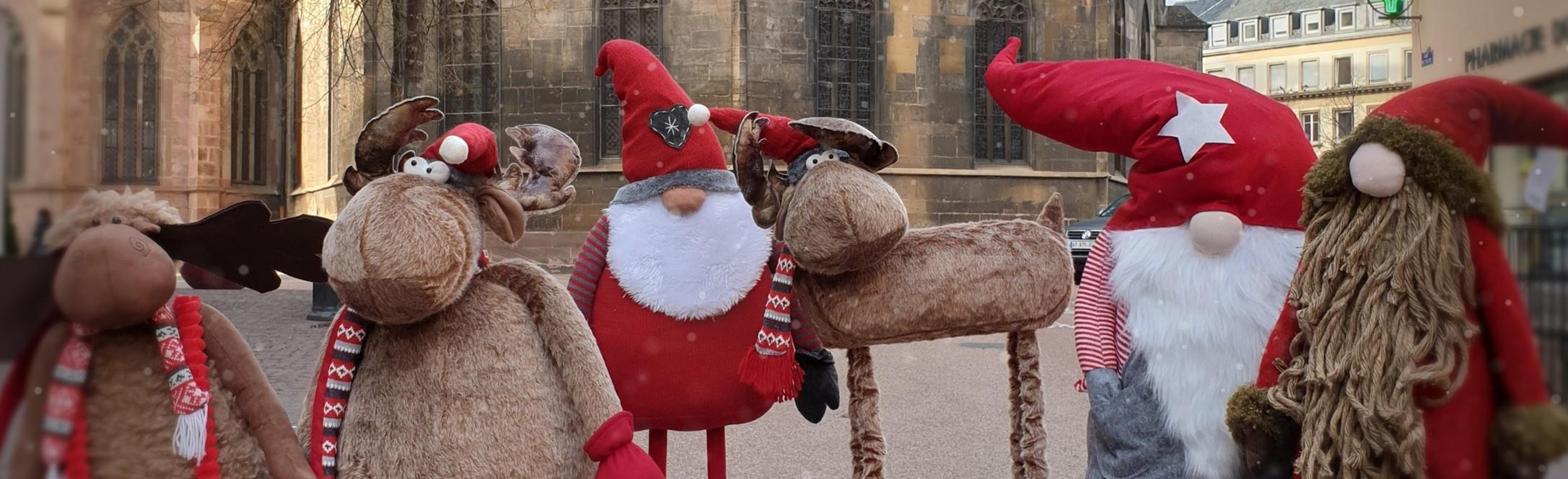 Alsace Boutique - Gnomes de Noël XXL